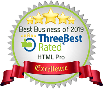 Three Best Rated Award for Best Web Design Agency